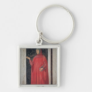 Petrarch   from the Villa Carducci series Keychain