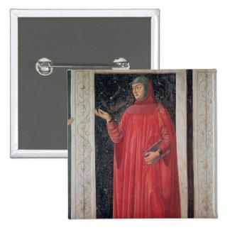 Petrarch   from the Villa Carducci series Pinback Button