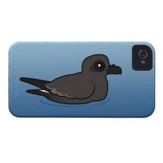 Petrel de la tormenta de la lixiviación (nadada) Case-Mate iPhone 4 cárcasas