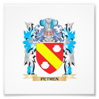 Petren Coat of Arms - Family Crest Photo