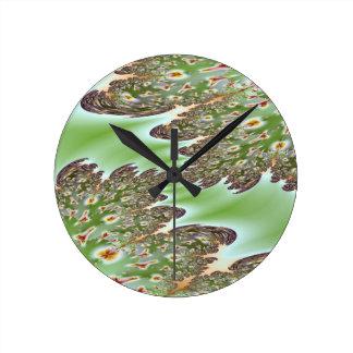 Petri Dish Wall Clock