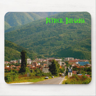 Petrich, cojín de ratón de Bulgaria 1 Alfombrillas De Raton