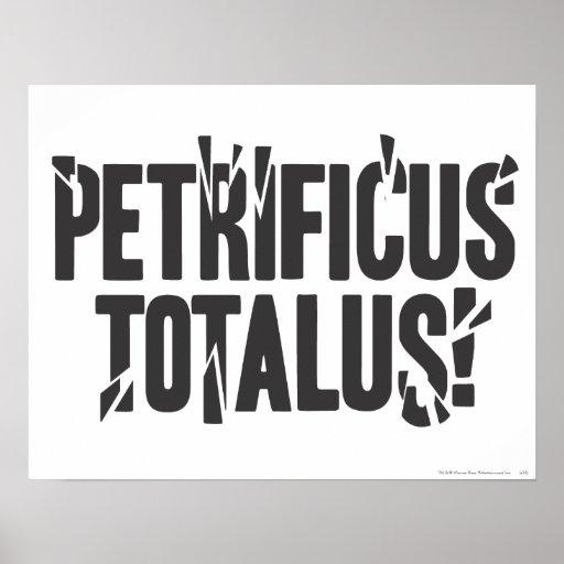 Petrificus Totalus! Poster