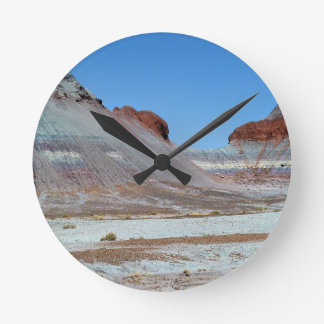 Petrified Forest 3 Round Clock