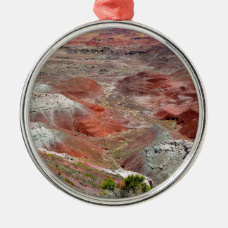 Petrified Forest 4 Metal Ornament