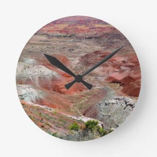 Petrified Forest 4 Round Clock