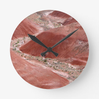 Petrified Forest 5 Round Clock