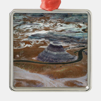 Petrified Forest Metal Ornament