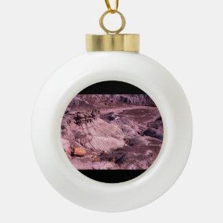 Petrified Forest National Park Ceramic Ball Christmas Ornament