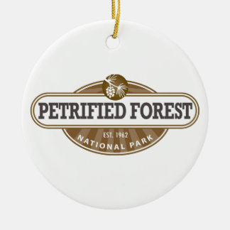 Petrified Forest National Park Ceramic Ornament
