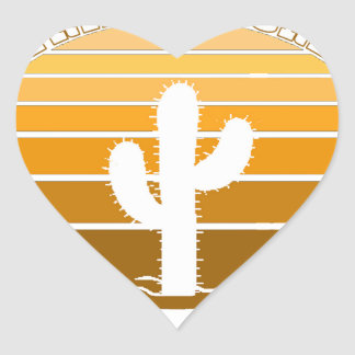 Petrified Forest National Park Heart Sticker