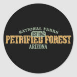 Petrified Forest National Park Classic Round Sticker