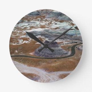 Petrified Forest Round Clock