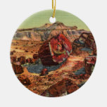Petrified Forest Vintage Arizona Ornament