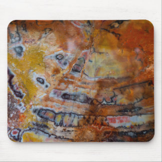 Petrified Wood Brown Mouse Pad