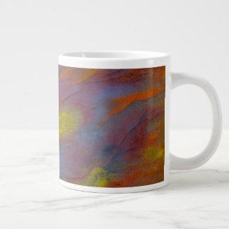 Petrified Wood Close-Up Giant Coffee Mug