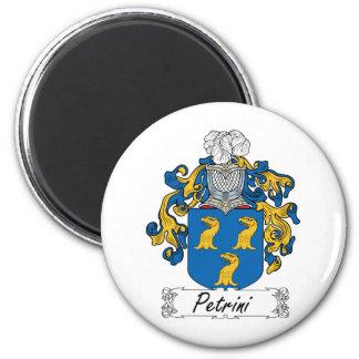 Petrini Family Crest 2 Inch Round Magnet