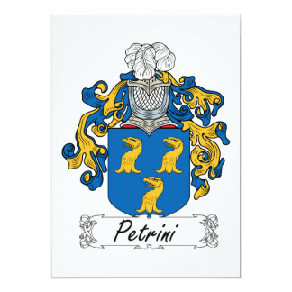 Petrini Family Crest Card