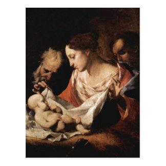 Petrini, José Antonio Heilige Familie 1700-175 Tarjeta Postal