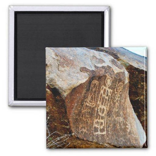 Petroglifo de Nevada del imán