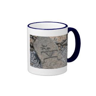 Petroglifo hawaiano - taza