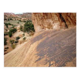 Petroglifos del estilo de Glen Canyon Postal