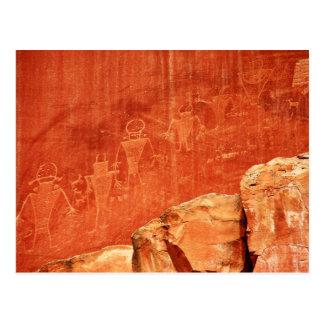 Petroglifos del filón del capitolio postales