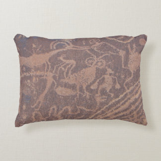 Petroglifos Cojín Decorativo