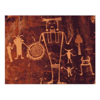 Petroglifos, monumento nacional del dinosaurio, tarjetas postales