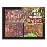 Petroglifos, monumento nacional del dinosaurio, Ut Tarjetas Postales
