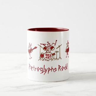 Petroglyhs Rock Band Mug