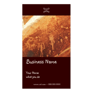Petroglyph Business/Earring card Double-Sided Standard Business Cards (Pack Of 100)