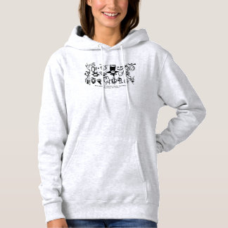 Petroglyph Collection, Masks and Heads Hoodie