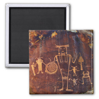 Petroglyph Dinosaur National Monument Fridge Magnets