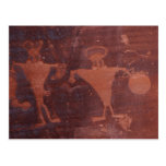 Petroglyph in Moab, Utah Post Cards