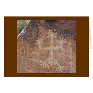 Petroglyph Note Card Dripping Springs Natural