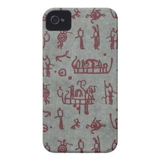 Petroglyph rock engraving case for Iphone 4