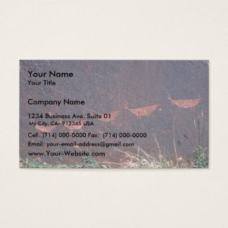 Petroglyphs Business Card