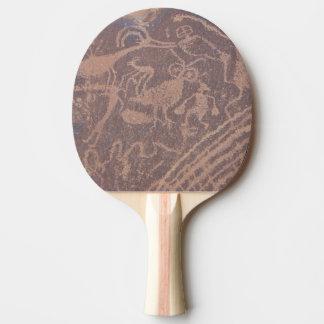 Petroglyphs Ping-Pong Paddle