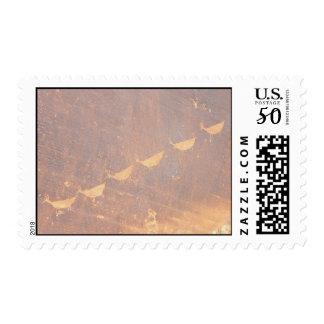 Petroglyphs in Glen Canyon National Park Postage