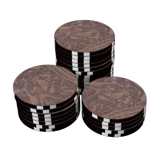 Petroglyphs Poker Chips