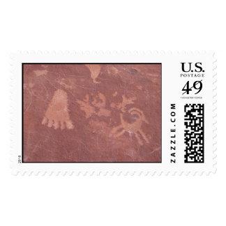 Petroglyphs Postage Stamp