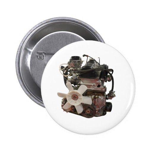 Petrol engine 2 inch round button