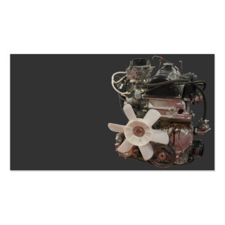 Petrol engine business card