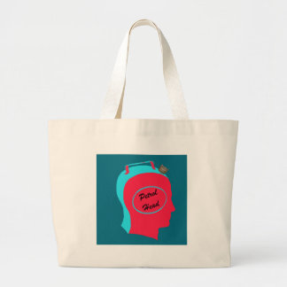 petrol head on peacock background v2.png tote bags