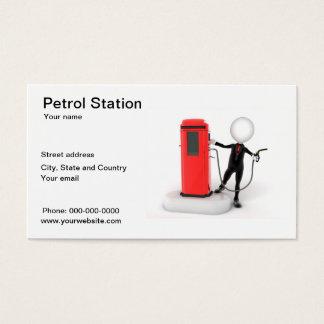 Petrol Station business card