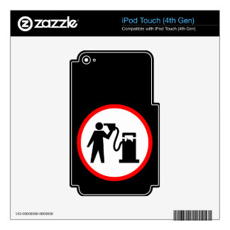 Petrol Suicide iPod Touch 4G Skins