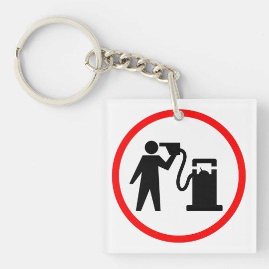 Petrol Suicide Keychain
