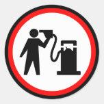Petrol Suicide Sticker