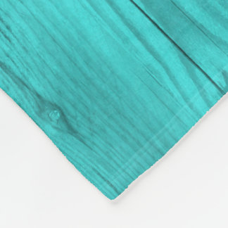 Petrol wood structure as a background texture fleece blanket